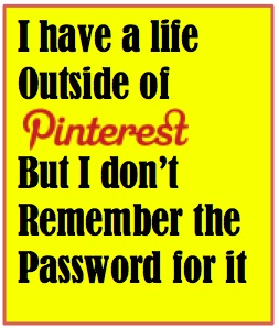 pinterest password
