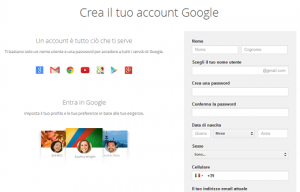 account google plus