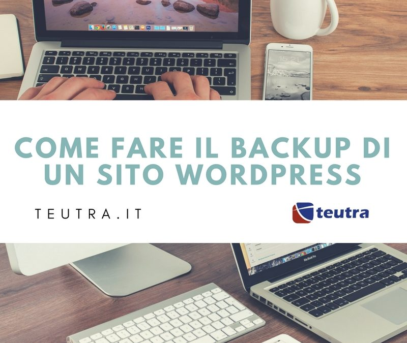 piccola guida per fare backup wordpress