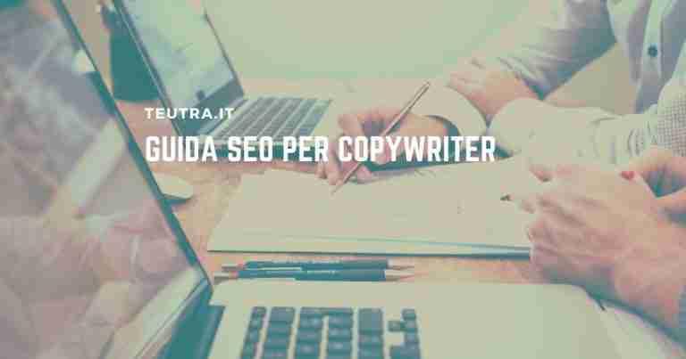 Guida SEO per copywriter