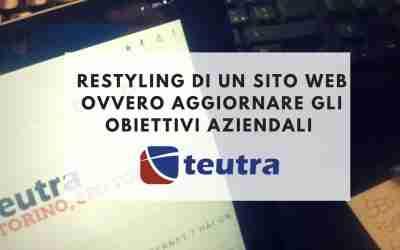 Restyling di un sito web