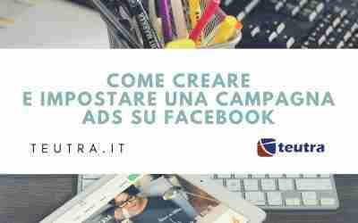 Come avviare una campagna pubblicitaria su facebook ads