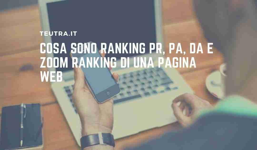 ranking di una pagina web