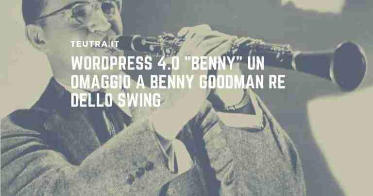 wordpress benny