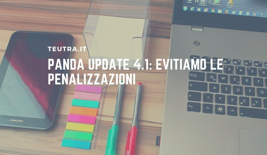 Panda Update 4.1 evitiamo le penalizzazioni