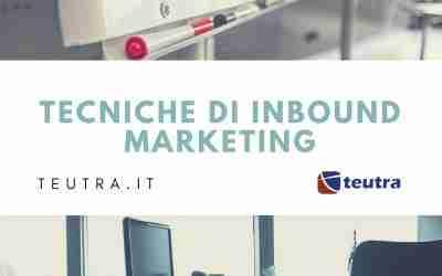 Tecniche di inbound marketing la pubblicità del futuro