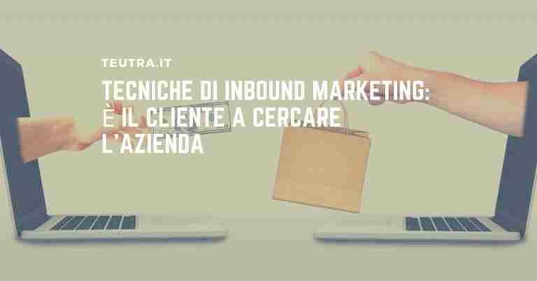 tecniche di inbound marketing