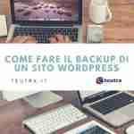 piccola guida per fare backup wordpress