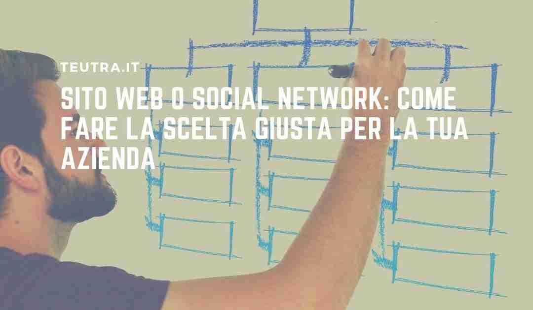 Sito web o social network