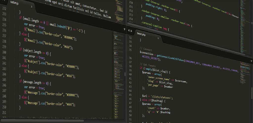 programmazione e codice
